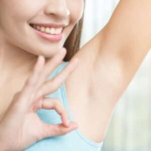 Remove unwanted arm hair