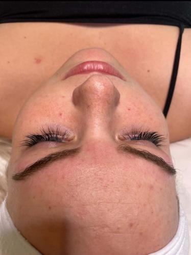 Lash Lift and Tint Top-Down Profile (After)